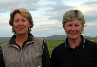 Janice Paterson and Helen Faulds