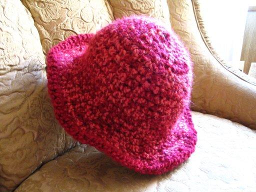 Strings and Sealing Wax  Crocheted Hat with Brim 2c9f7ed779
