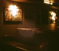 Mystery bar #19 - sofas and posters