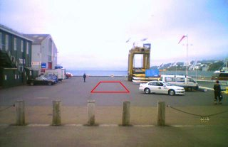 Queens Wharf - approximate location of proposed vehicle tunnel