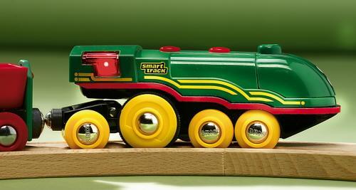trains jouets gamme smart track brio. Black Bedroom Furniture Sets. Home Design Ideas