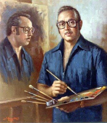 autorretrato de Jose Azaustre Muro