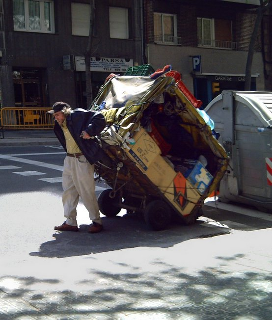 Recycling and Poverty in Barcelona