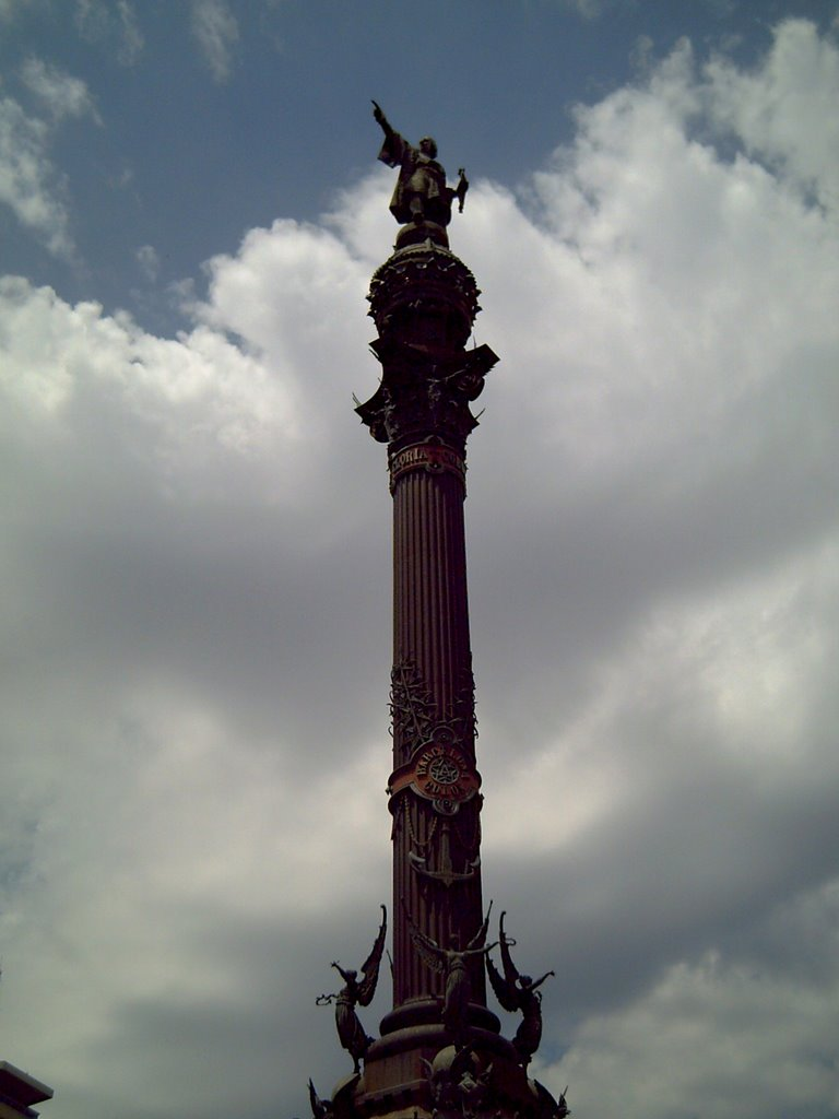 Columbus Monument at Las Ramblas, Barcelona