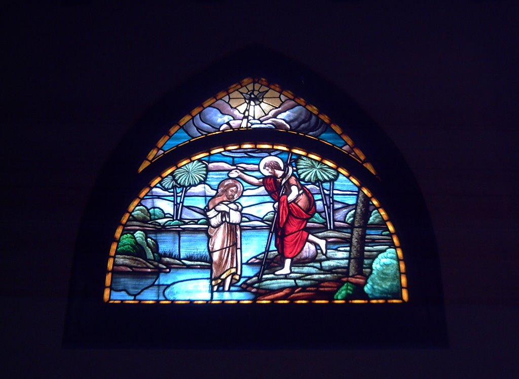 Stained Glass: Mare de Déu de Montserrat Church