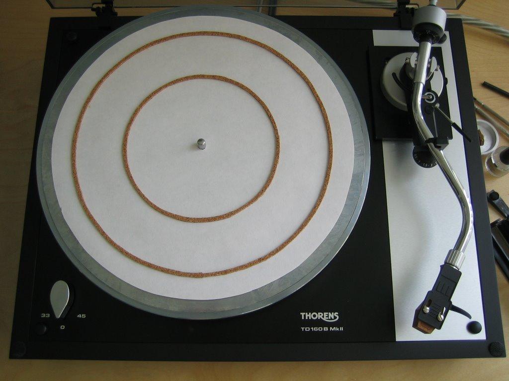 Audiofile Diy Ringmat Platter Mat
