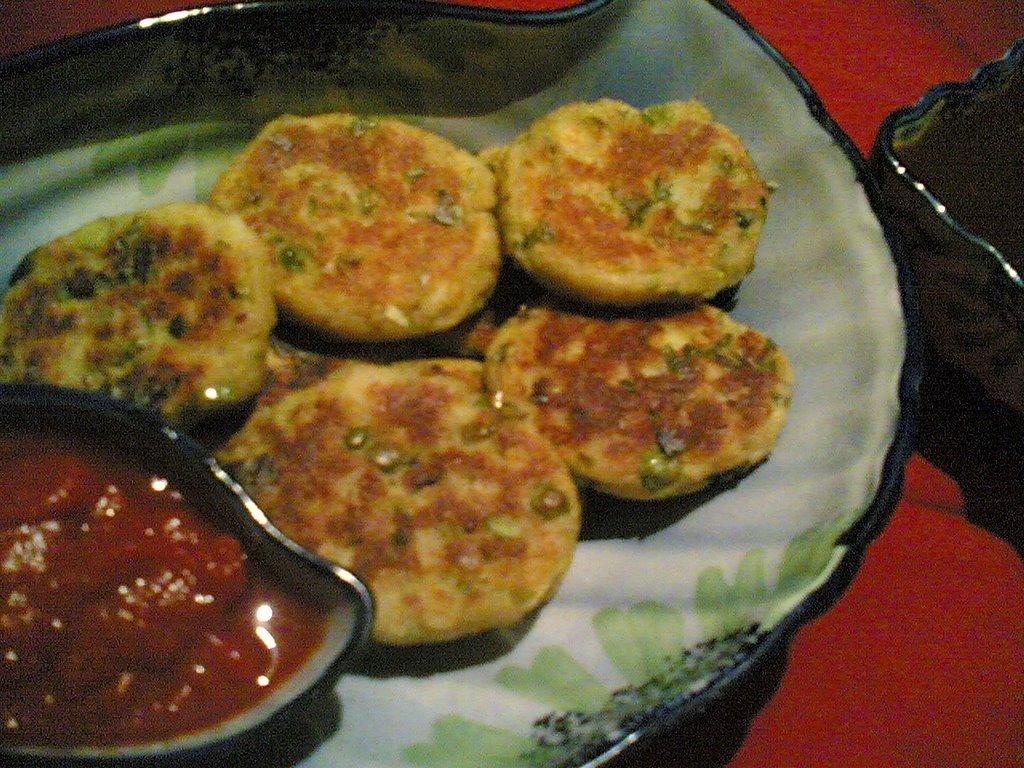 Aloo Tikki Corn Bhel Indian Street Food Fare Indian