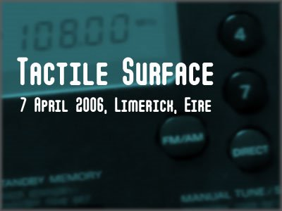 Tactile Surface