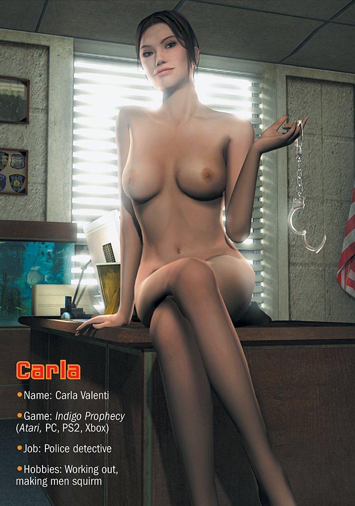 video games nud females