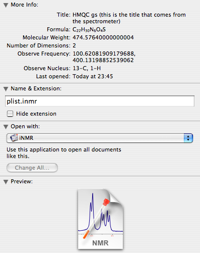 NMR software: November 2006