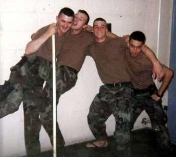 Military lads gay
