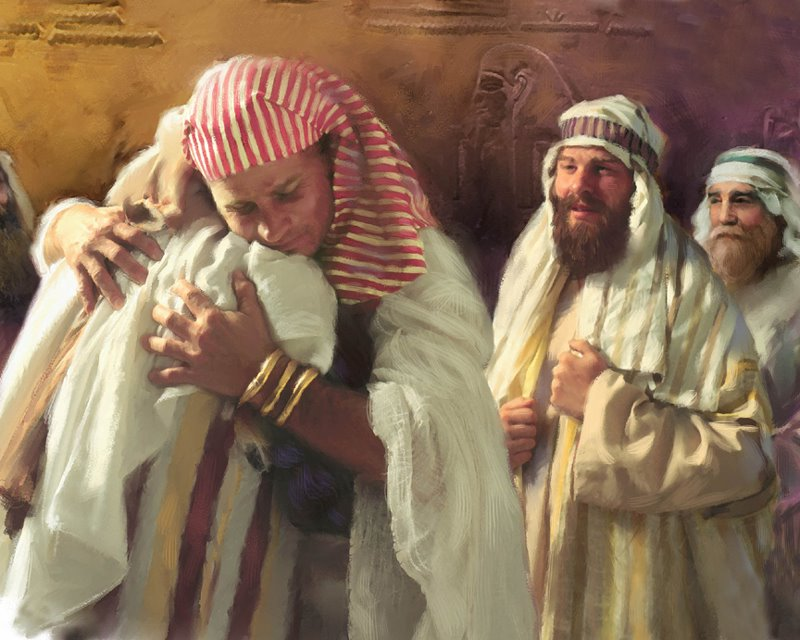Bible Stories: Joseph Meets His Brothers