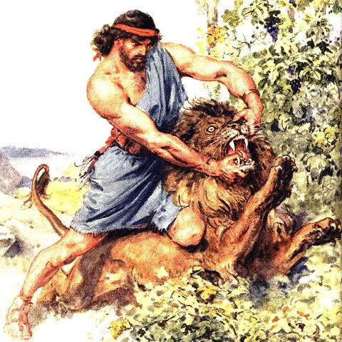 Bible Stories: Samson and the Lion
