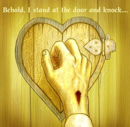 Learning And Understanding Our Faith: Behold I stand at the door ...