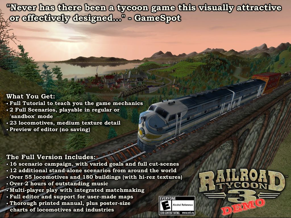 think-free ~ Need for Games: Railroad Tycoon 3 - Demo