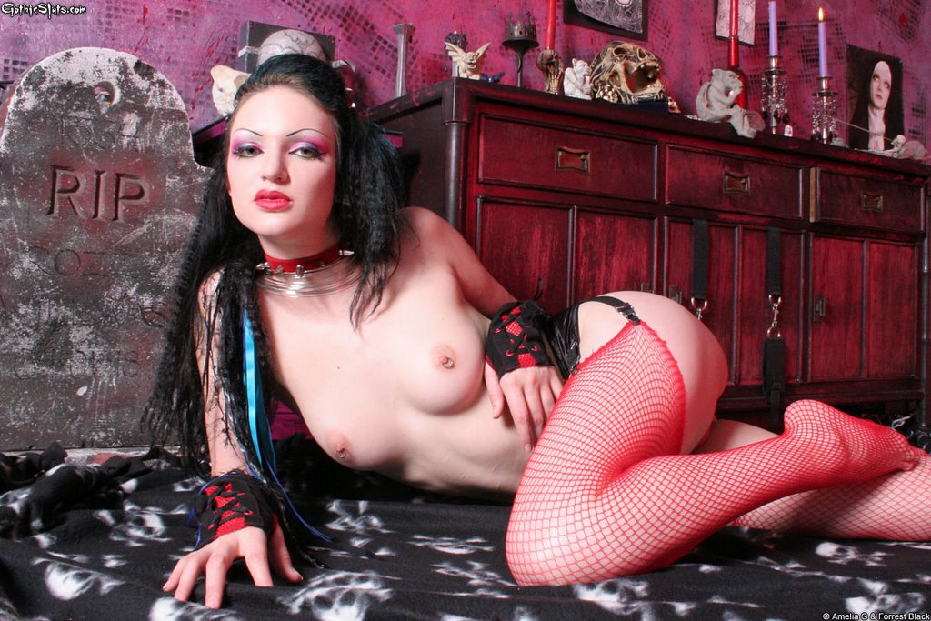 Порно готы девушки фото