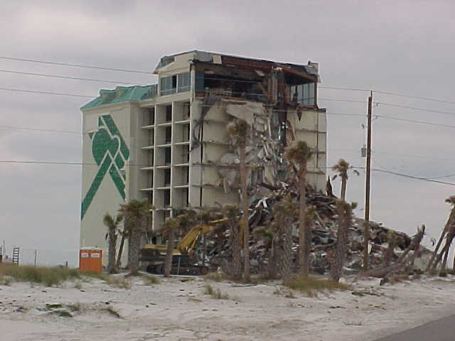 We Did Stay In The Pensacola Beach Holiday Inn Last Night