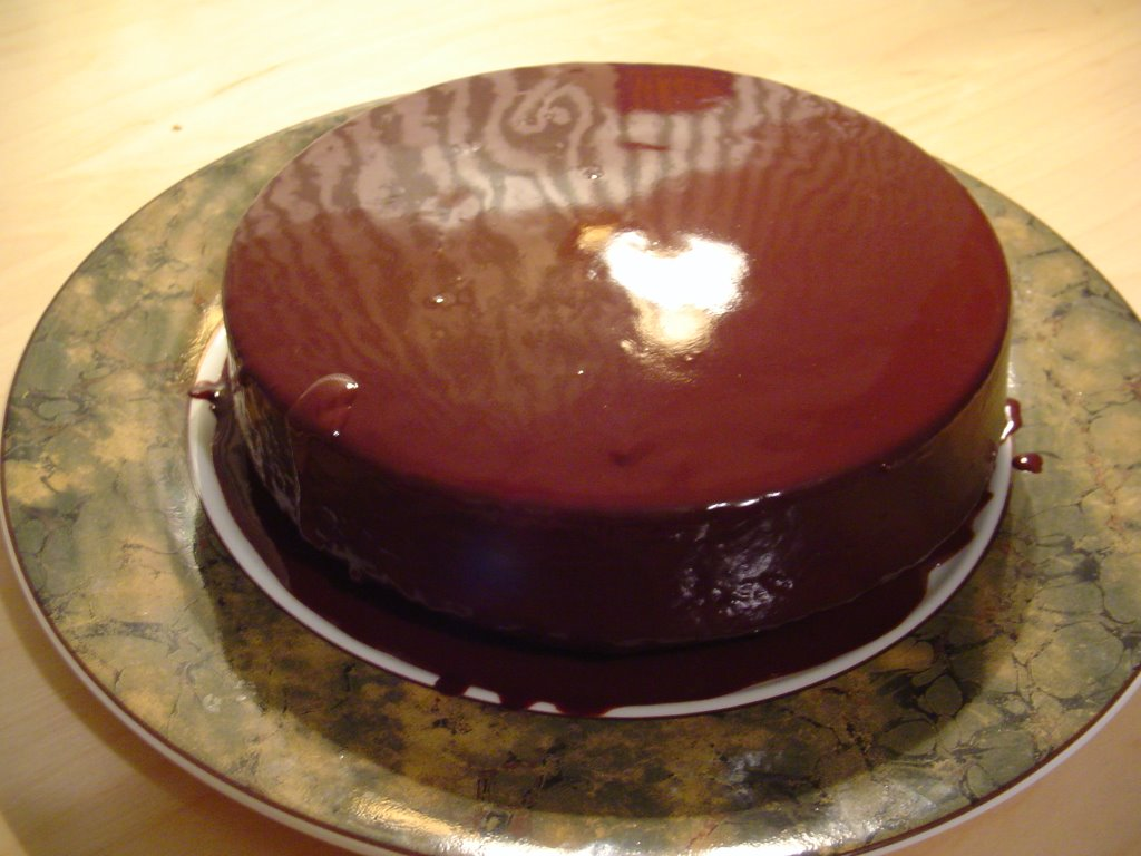 Chocolate Cuban Rum Cake