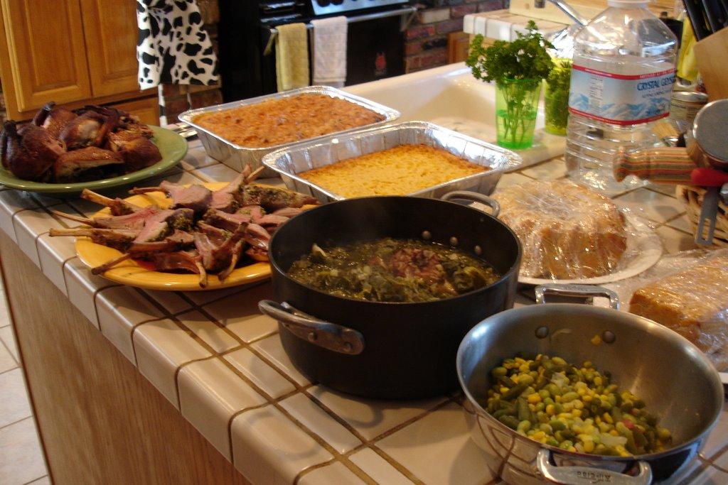Sweet Memories Of My Grandmother's Meals - Mocha Dad |Soul Food Family Dinner