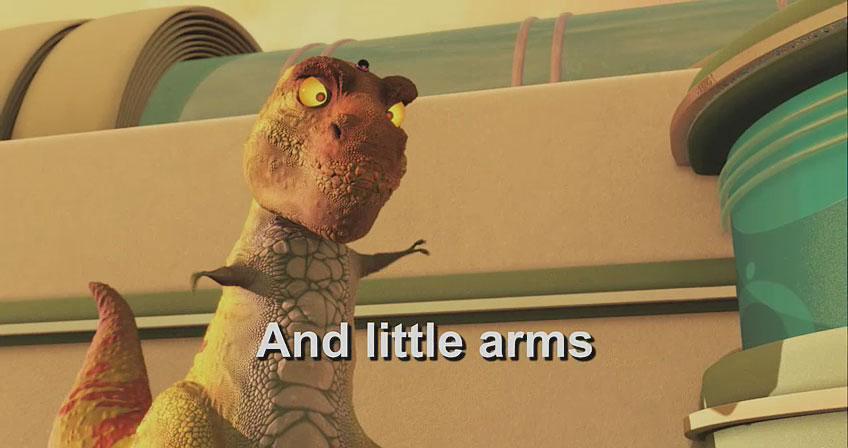 rex from meet the robinsons