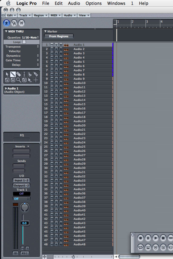 Logic QuickTips: Gimme More Tracks!