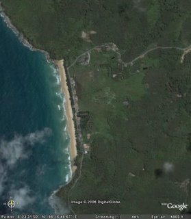 Naithon Beach, Phuket on Google Earth