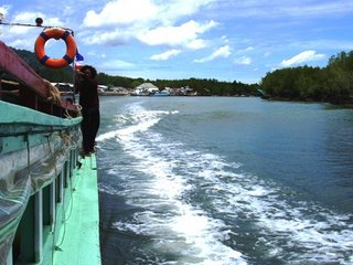 View from the ferry to Bang Rong