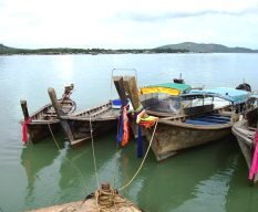 Boats at Laem Hin