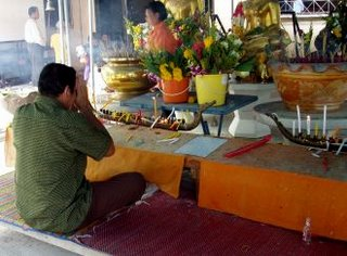 Songkran prayers