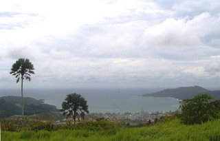 View over Patong from Radar Hill - photo by Bill and Paula Monk