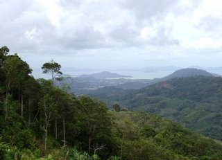 View across Phuket - photo by Bill and Paula Monk