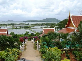 View from Wat Sapam, east coast of Phuket