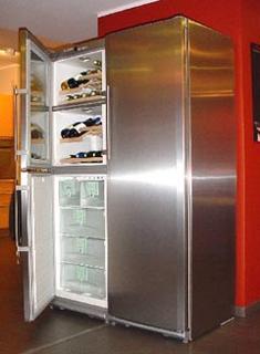 awesome cave a vin et frigo with frigo americain avec cave. Black Bedroom Furniture Sets. Home Design Ideas