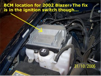 2002 chevy trailblazer pcm wiring wiring diagramcheck engine light codes october 2006intermittent no start and no scanner communication for 2002 chevy blazer