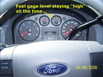 Check Engine Light Codes 2000 Ford Taurus Fuel Gage Stuck