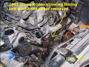 2001 Isuzu Rodeo With V6 Engine With on isuzu 3 2 engine diagram