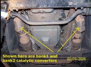 Catalytic Coverter Copy on Mercedes Benz Catalytic Converter