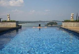 Our pool suite at Bintan