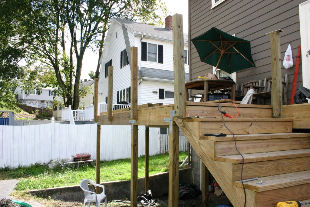 Boston Shumways Deck Update Railing Posts