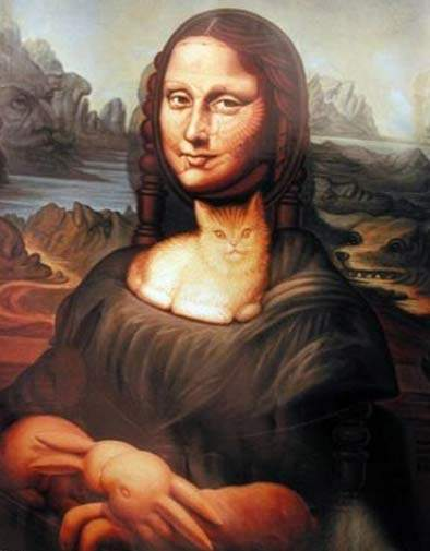 illusions face optical illusion faces hidden mona painting lisa eye many ocampo octavio animals cat amazing monalisa funny than se