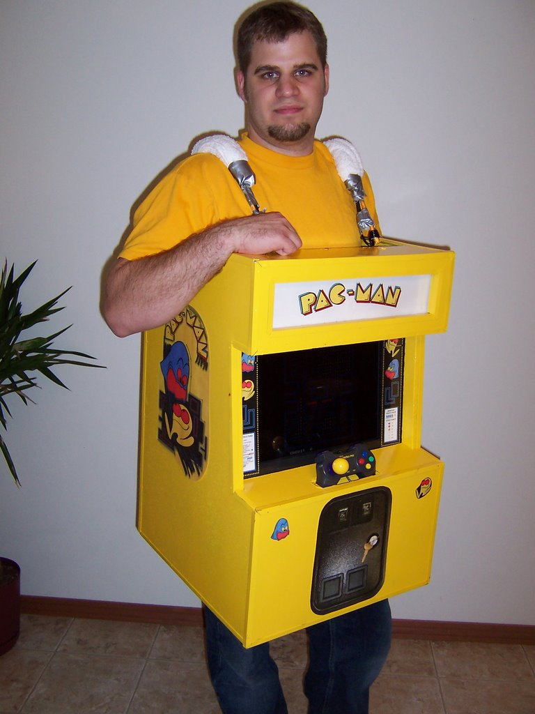 Another Baseball Blog: Pacman Arcade Costume