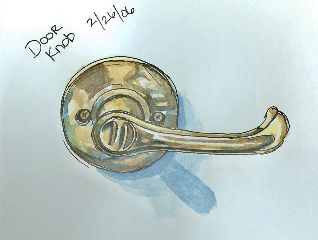 The Clothesline: EDM #55 Draw a doorknob