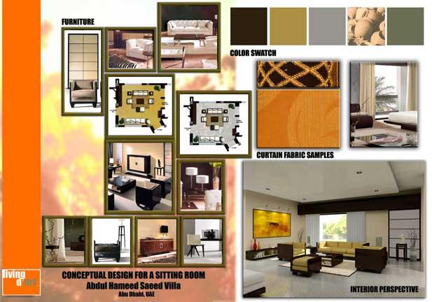 Aabrea Art Design Portfolio Concept Board