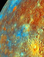 Image Credit: NASA/JPL/Northwestern University, Target Name: Mercury, Is a satellite of: Sol (our sun), Mission: Mariner Venus Mercury (MVM), Spacecraft: Mariner 10, Instrument: Imaging Science Subsystem - Narrow Angle, Product Size: 213 samples x 275 lines, Produced By: Northwestern University, Addition Date: 1999-12-07.