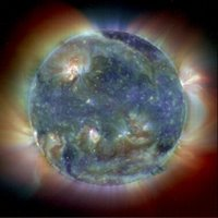 Sol (our sun), Courtesy NASA/JPL-Caltech