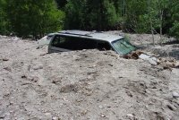 Looking Down on Van, Photo Credits - C. Hasselbrink, Chaffee County EM NOAA NWS