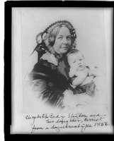 Elizabeth Cady Stanton and her daughter, REPRODUCTION NUMBER: LC-USZ62-48965, Library of Congress Prints and Photographs Division
