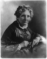 Harriet Beecher Stowe, 1811-1896, CALL NUMBER: BIOG FILE - Stowe, Harriet Beecher, 1811-1896 [item] [P and P], REPRODUCTION NUMBER: LC-USZ62-11212 (b and w film copy neg.), No known restrictions on publication