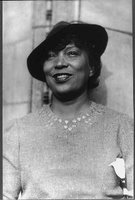 Zora Neale Hurston public domain stock photo