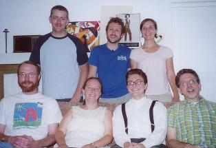 Quaker bloggers at the convergent Friends gathering in Los Angeles, 8th Month 2006